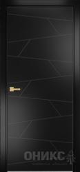 Дверь Концепт №2 эмаль черная