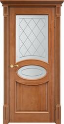 Межкомнатная дверь 26 Ш ДОФ С БАГЕТОМ 10% ОРЕХ