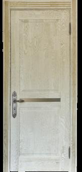 Дверь Альверо Афина, Беленый дуб браш с золотом