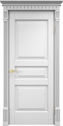 Дверь ОЛ 5 Белая эмаль