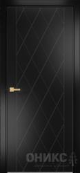 Дверь Концепт №5 эмаль черная