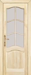 Дверь остеклённая 7 Ш Неокрашенная