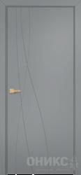 Дверь Концепт №7 эмаль серая