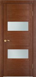 Дверь остеклённая Д 77 Коньяк