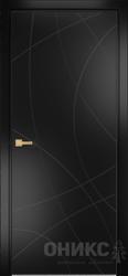 Дверь Концепт №8 эмаль черная