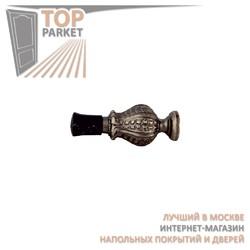 Дверной ограничитель Melodia 829 Античное серебро
