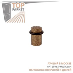 Дверной ограничитель Melodia 850 Античное серебро