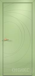 Дверь Концепт №9 эмаль фисташковая