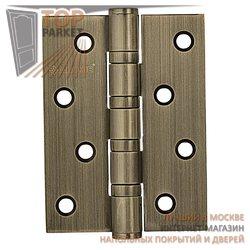 Петли дверные универсальные A010-C 100X70X3-4BB-1B античная бронза; без короны