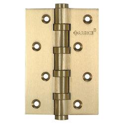 Петли дверные универсальные A010-C 100X70X3-4BB-1U матовая латунь; без короны