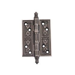 Петли дверные универсальные A030-G 4262 BL.SILVER черненое серебро размер L/XL