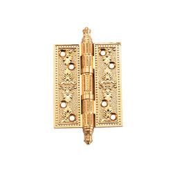 Петли дверные универсальные A030-G 4262 S.GOLD матовое золото размер L/XL