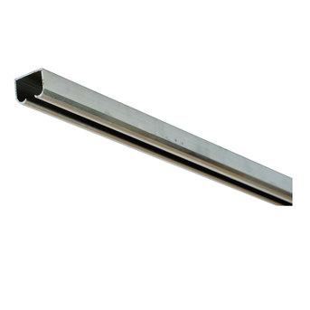 Фурнитура для раздвижных дверей AY8401-3M WF Направляющий профиль, длина 3м