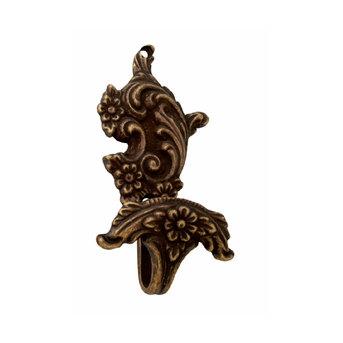 Крючок Corona H-01 Античное серебро