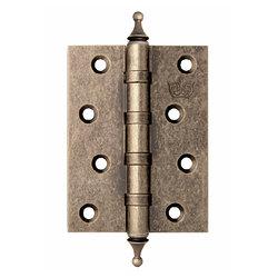Петли дверные Corona Античное серебро