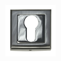 Накладка под евроцилиндр B0-30 Матовый хром