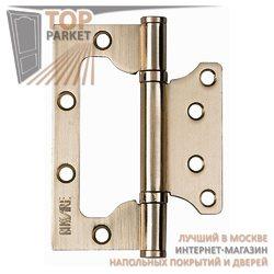 Накладные универсальные дверные петли B020-U Матовое золото