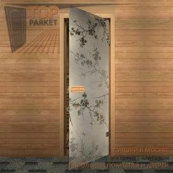 Стеклянная дверь Bella Cosa Дикая слива