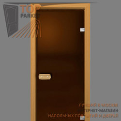 Стеклянная дверь Bella Cosa Бронза