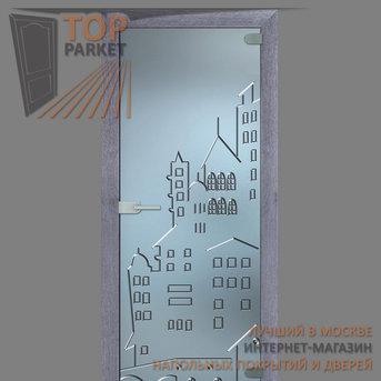 Стеклянная дверь Bella Cosa Город