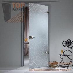 Стеклянная дверь Bella Cosa Кракле