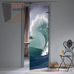 Стеклянная дверь Bella Cosa Волна