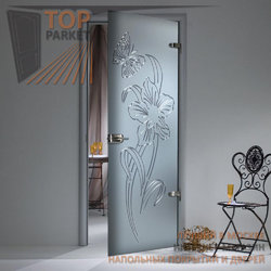 Стеклянная дверь Bella Cosa Амариллис