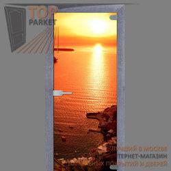 Стеклянная дверь Bella Cosa Закат