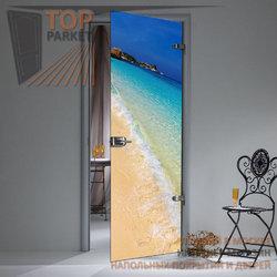 Стеклянная дверь Bella Cosa Sea