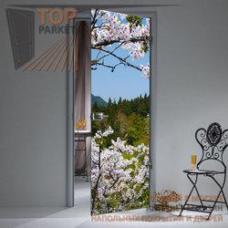 Стеклянная дверь Bella Cosa Flowers