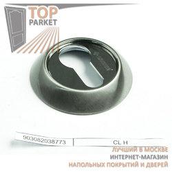 Накладка круглая под евроцилиндр CL 9 хром матовый