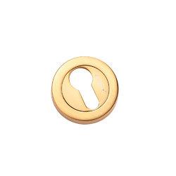 Накладки на евроцилиндр CL-20G S. GOLD матовое золото