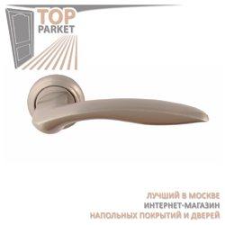 Ручка дверная на розетке Chikago Матовый никель