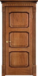 Дверь Д 7/3 Орех 10% патиной