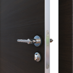 Межкомнатная дверь Дверная Линия ДГ-500 Венге горизонтальный