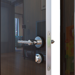 Межкомнатная дверь Дверная Линия ДГ-500 Венге глянец