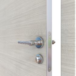 Межкомнатная дверь Дверная Линия ДГ-500 Ива светлая