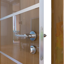 Межкомнатная дверь Дверная Линия ДГ-505 Анегри темный