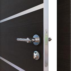 Межкомнатная дверь Дверная Линия ДГ-505 Венге горизонтальный