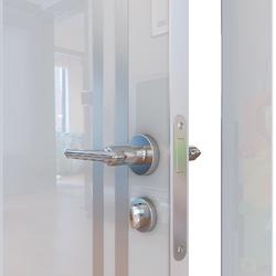 Межкомнатная дверь Дверная Линия ДГ-506 Белый глянец