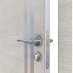 Межкомнатная дверь Дверная Линия ДГ-506 Ива светлая