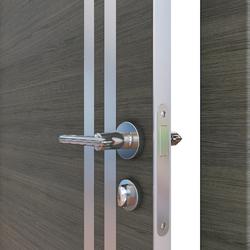 Межкомнатная дверь Дверная Линия ДГ-506 Ольха темная