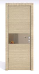 Межкомнатная дверь Дверная Линия ДО 501 Неаполь, зеркало бронза