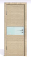 Межкомнатная дверь Дверная Линия ДО 501 Неаполь, стекло белое матовое