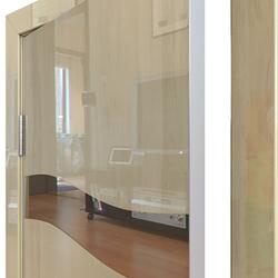 Межкомнатная дверь Дверная Линия ДО-503 Анегри светлый зеркало бронза