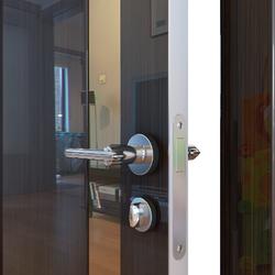 Межкомнатная дверь Дверная Линия ДО-507 Венге глянец зеркало бронза