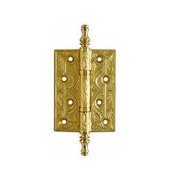 Петли дверные Class Золото 24 К
