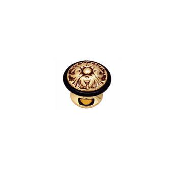 Дверной ограничитель Class Золото 24 К + Коричневый