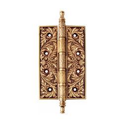 Петли дверные Class Золото 24 К + Коричневый