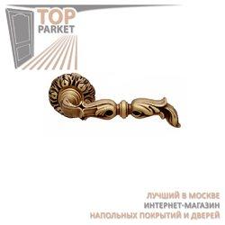 Ручка дверная на розетке Gumana Матовая бронза